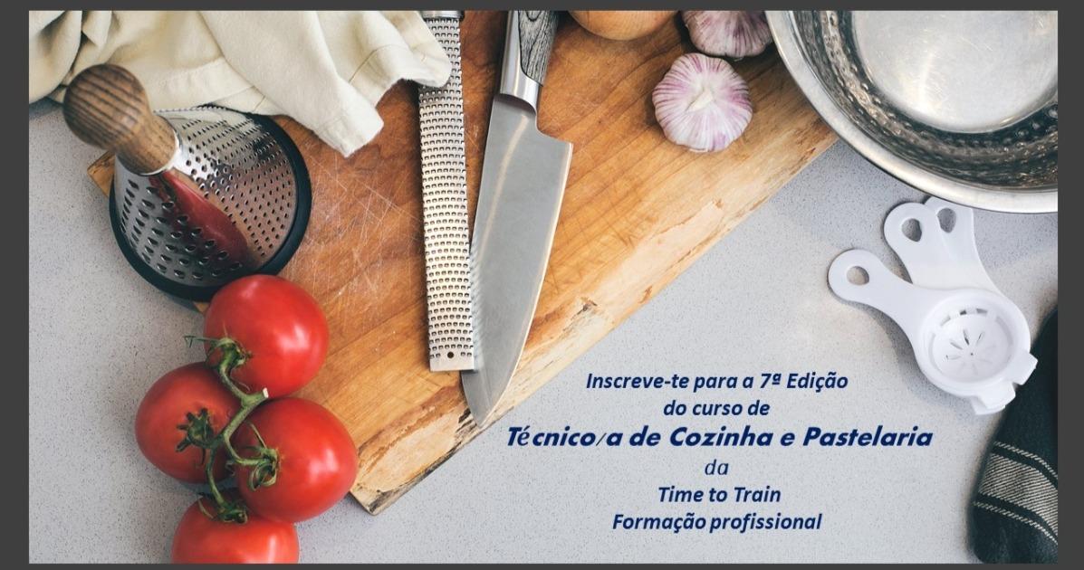 Curso Técnico de Cozinha/Pastelaria