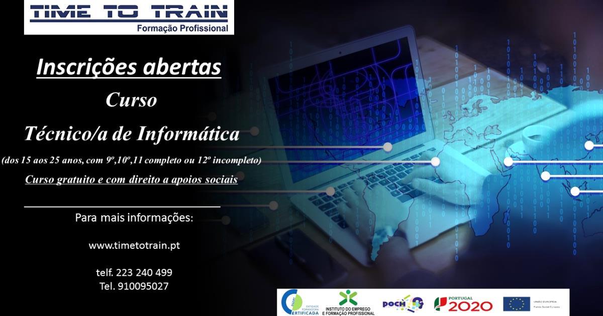 Curso Técnico/a de Informática